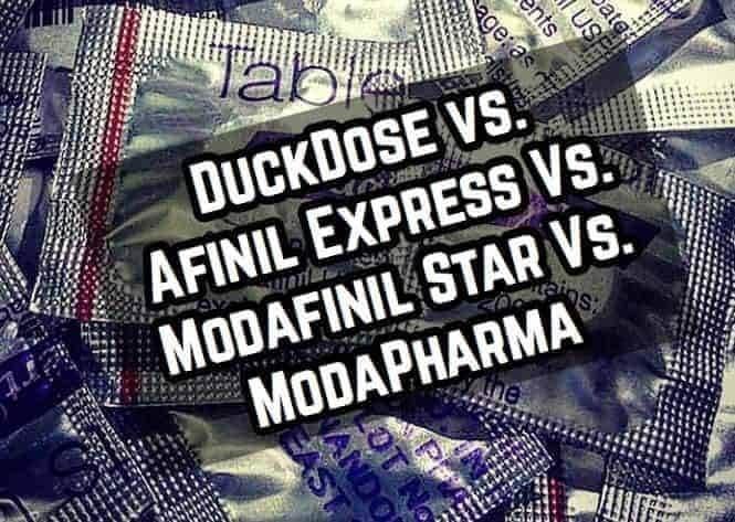 DuckDose Vs. Modafinil Star Vs. Afinil Express Vs. ModaPharma