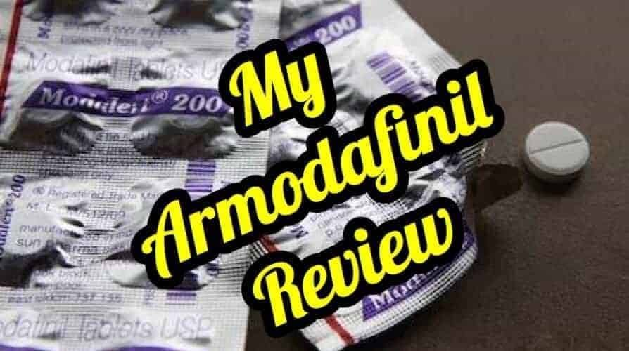 My Armodafinil Review