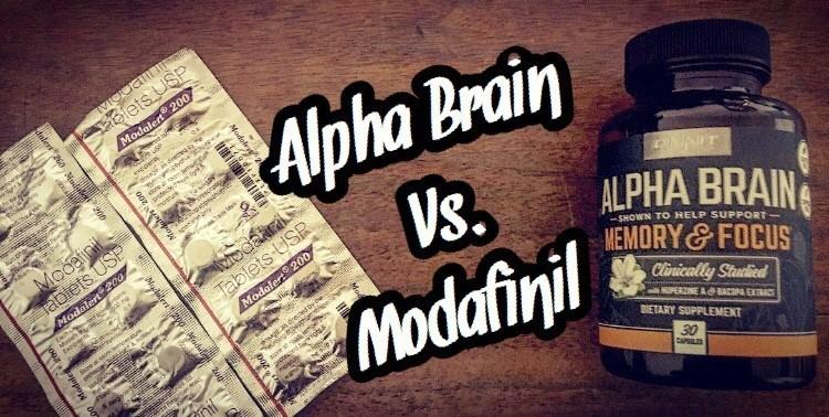 Alpha Brain Vs. Modafinil