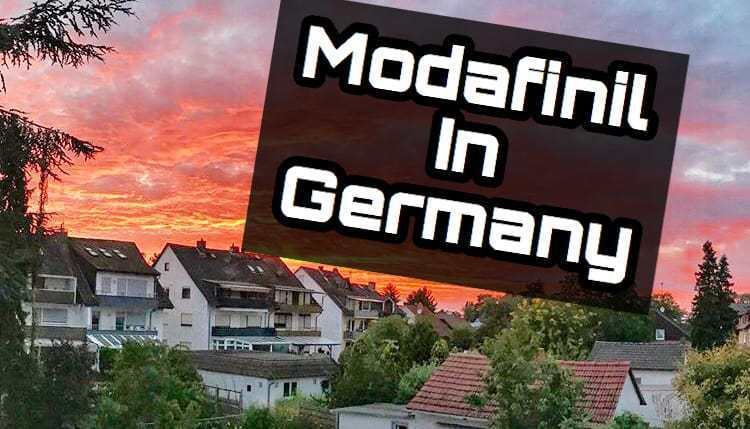 Modafinil in Germany